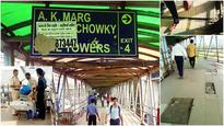 Bandra east skywalk reels under negligence and insufficient security