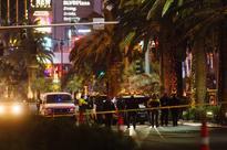 Man held in Vegas Strip sidewalk gun case brought to court