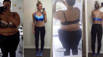 Social media star continues to silence trolls with 92kg weightloss