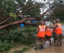 Cyclone Vardah kills two in Andhra