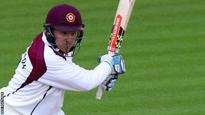 Rossington helps Northants push for win