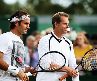 'Things are so good, I think Roger just has to enjoy it'