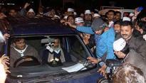 Delhi CM Arvind Kejriwal's stolen 'blue Wagon R' car found here
