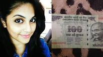 When actor Megha Chakraborty was given a Rs 100 note signed by Santa Claus
