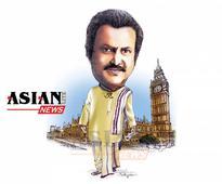 Pranam to Mohan Babu at British Parliament