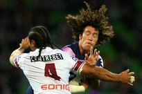 Matai stops Proctor in his tracks