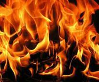 Fire in central Delhi's Gaffar market