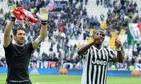 Juventus celebrates Italy's Serie A title after Carpi victory