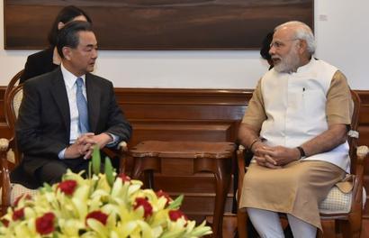 Chinese foreign minister meets PM Modi, Swaraj; discuss NSG, Masood Azhar