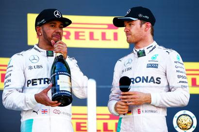 Hamilton and Rosberg have moved on... it's just 'pure respect' for each other
