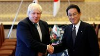 Britain stands shoulder to shoulder with Japan to stop North Korea's persistent violations, says Boris Johnson
