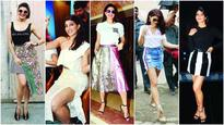 5 Times Jacqueline Fernandez worked the skirt like a sartorial pro!