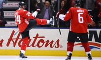 The Crosby-Marchand Duo is dominating the World Cup