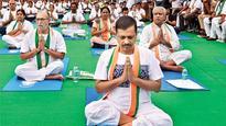 Delhiites celebrate International Yoga Day