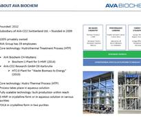 Hydrothermal processing on the move: The Digest's 2016 8-Slide Guide to AVA Biochem