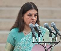 Maneka Gandhi stresses the need for ambulances in all districts
