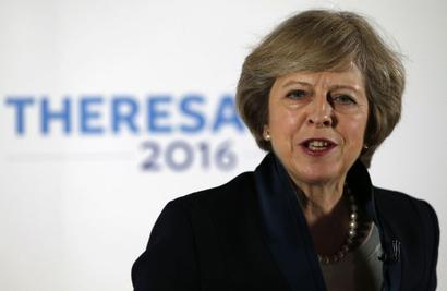 Missile strikes against Syria not for regime change: Britain's May