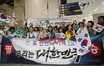 First group of Korean athletes land in Rio