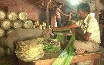 West Midnapore villagers, who eke out a living by making leaf bowls, continue to face demonetisation woes