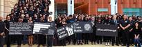 Students, Faculty Stand in Unity at Ross Black Lives Matter Gathering