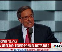 Leon Panetta Tried to Denounce Trump at DNC, but Hecklers Wouldn't Let Him
