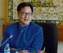 Kiren Rijiju assures BJYM chief severe action against killers of youth leader Gowhar Hussain Bhat in Kashmir