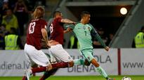 World Cup 2018 qualifiers: Cristiano Ronaldo's brace helps Portugal beat Latvia