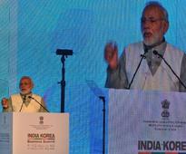 India-South Korea bilateral trade touched $20 bn in 2017: PM Modi