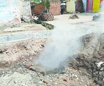 Toxic fumes hit 50 Jharia homes