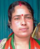 Wife campaigns for jailed BJP candidate