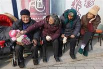 Greying China taps rural elderly to care for those even older