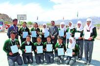 DPS Leh students bring laurels in inter-school games