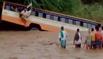 UP: Eight killed, 35 injured after bus falls into river