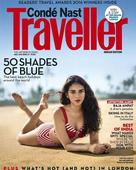 Aditi sizzles on the cover of Conde Nast Traveller Magazine