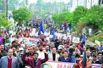 SC, ST protesters clash with police; SDPO North injured