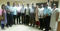 ABVP leaders meet TISS director