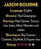 Kills and thrills - Jason Bourne