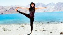 Urmila Matondkar is learning yoga