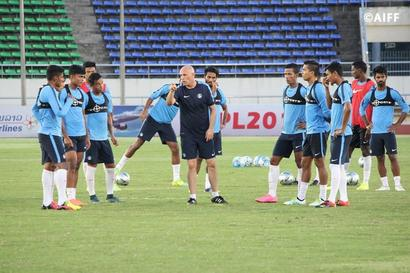 India outclass Cambodia in football friendly