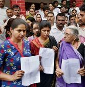 Maya has no Daya, she'll have him beheaded, says ex-BJP leader's wife