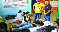 2nd Mega Blood Donation camp held
