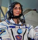 Sunita Williams arrives at ...