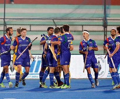 Hockey India League: UP Wizards hammer Punjab Warriors 4-1