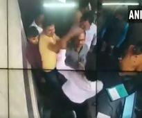 Caught on cam: BJP leader Rahuldev Agnihotri, son thrash toll plaza employee in UP