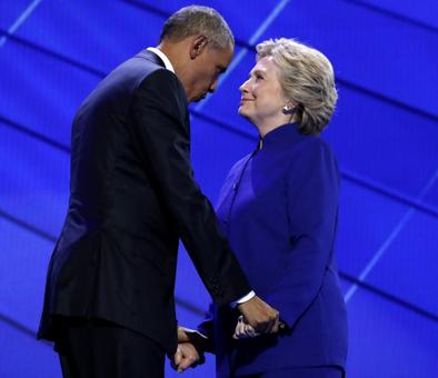 From 'likable enough' to lovefest: Obama and Clinton through the years