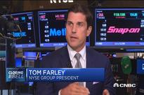 NYSE president expects lively IPO market ahead