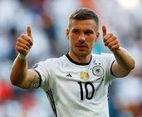 Germany striker Lukas Podolski has announced his retirement from international football