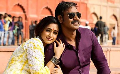 Devgn doesn't clobber a single soul in Raid