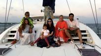 Aishwarya Rai Bachchan spends time with Aaradhya and Shweta Nanda