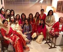 Spotted: Sridevi, Raveena Tandon and other celeb wives celebrate Karva Chauth